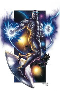 Silver surfer by ~DAVID-OCAMPO on deviantART