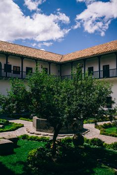 Travel Inspiration for Peru - Belmond Palacio Nazarenas Luxury Hotel in Cusco Peru