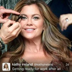 Kathy Ireland Ireland Homes, Kathy Ireland, Stylists, Celebs, Hair, Videos, Tv, Summer, Movies
