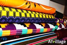 Pile of African Print Material