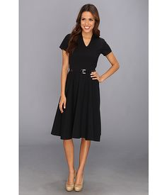 Pendleton Audrey Dress Black Stretch Worsted - 6pm.com