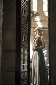 Daenerys's costume. I think hers are the most different in the show every time. I think because she might be the most flexible character yet in some ways. While others look back, she looks ahead.