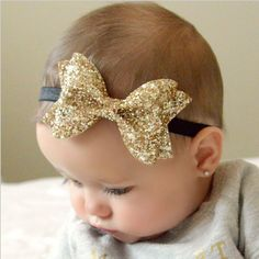 New Cut Shiny Bow Knot Headband