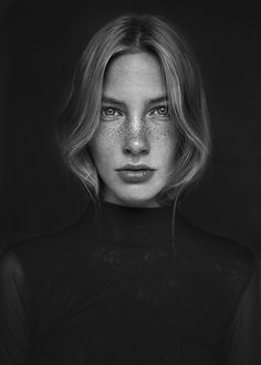 Portraits of Britt on Behance