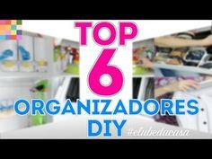 Top 6 dos Organizadores DIY | #clubedacasa - YouTube