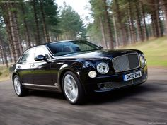 Bentley Mulsanne  ...and my other car is...