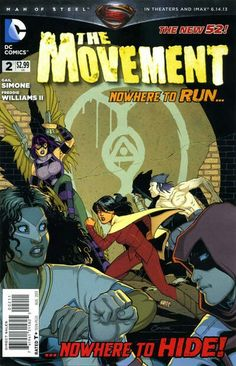 The Movement (DC Comics, 2013) #2
