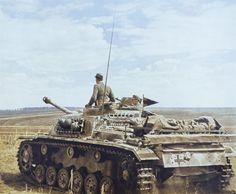A German Sturmgeschütz III Ausf. (F) or (G) assault gun in Russia 1942. [640x528]