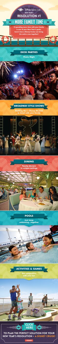 Fulfill your New Year's resolution to spend more time with family with these tips from Disney Cruise Line!