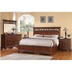 Flexsteel Wynwood Collection American Heritage King Bedroom Group