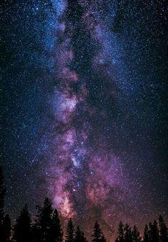 Milky Way at Yosemite | sky | | night sky | | nature |  | amazingnature |  #nature #amazingnature  https://biopop.com/