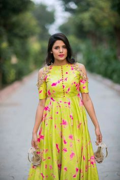 Love the bright colours of this indowestern outfit! Isn't it perfect for summer season? Find out more fashion and beauty inspo on GorgeouslyFlawed.com
