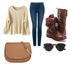 """""""Untitled #9"""" by embozant on Polyvore featuring NYDJ, MICHAEL Michael Kors and Christian Dior"""