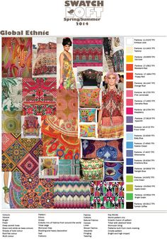 2014 pattern and colour trends