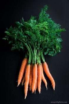 Carrots Food Photography Photo Print Wall Art por AmyRothPhoto, $25.00