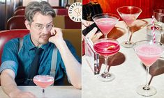 The inventor of The Cosmopolitan has a few tricks up his sleeve when it comes to making cocktails at home.Midwest-native Toby Cecchini came up with the now-world famous libation when working in bars … Famous Cocktails, Classic Cocktails, Holiday Cocktails, Cocktail Drinks, Alcoholic Drinks, Beverages, Citrus Vodka, Orange Twist