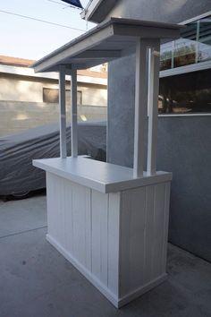 Read more about Pallet DIY Coffee Table Design, Wood Pallets, Pallet Wood, 1001 Pallets, Recycled Pallets, Bar Deco, Lemonade Bar, Diy Outdoor Bar, Outdoor Pallet