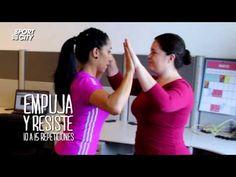Rutina de fuerza en pareja, Pausas Activas Grupales - YouTube