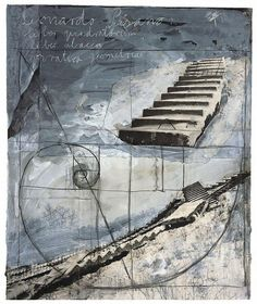 Anselm Kiefer (b. Anselm Kiefer, Abstract Landscape, Abstract Art, Photocollage, Global Art, Contemporary Paintings, Oeuvre D'art, Art Boards, Les Oeuvres