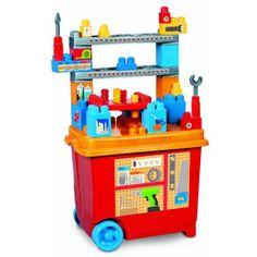 e3991b4118d88 Build n Play Workbench from MEGA Bloks