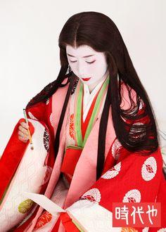 Karaginu Mo, taken by Jidaiya Kyoto Photostudio.