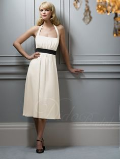 Can do with yellow dress and navy sash or vice versa www. didobridal.com
