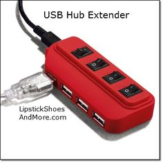 """USB Hub Extender! Expand your computer's connectivity! USB hub with USB extension has four ports to connect USB devices to your PC or Mac computer. 2.0 hub is compact for travel yet sufficient for your connectivity needs. 4"""" L x 1 3/4"""" W x 3/4"""" H. Plastic, metal. Imported. Item#: 134097 Price: $14.99"""