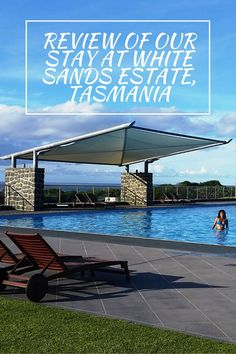 See review of our stay at White Sands Estate, Tasmania - perfect for a peaceful family vacation