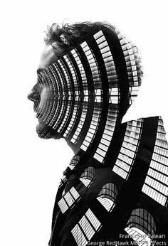 Milan Double Exposure Francesco Paleari Fstoppers 12 Seamless Double Exposures of Milans Architecture and People Photoshop Photography, Creative Photography, Landscape Photography, Portrait Photography, Urban Photography, Color Photography, Beauty Photography, Portraits En Double Exposition, Exposition Multiple