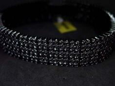 10K Black gold Men's Diamond Bracelet