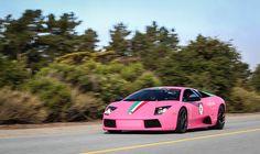 Lamborghini Murcielago Matte Pink.