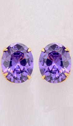 #OfficeEarrings - Cz Studded Earrings Costs Rs. 329. #Jewellery. BUY it here: http://www.artisangilt.com/cz-studded-earrings-35609.html?ref=pin