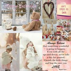 Happy Saturday Beautiful Collage, Beautiful Family, Beautiful Words, Beautiful Pictures, Word Collage, Color Collage, Collages, Happy Weekend, Happy Saturday