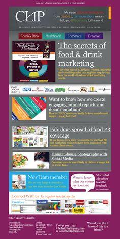 The latest #news #gossip #food #drink #design agency #newsletter Colorful Drinks, Newsletter Design, Design Agency, Creative Food, Gossip, Packaging Design, Health Care, Branding, Graphic Design