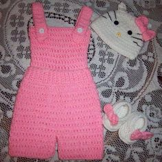 Hello Kitty Outfit Crochet Pattern  https://www.craftsy.com/user/pattern/store/725113