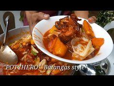 """POTCHERO"" Lutong Probinsya | Batangas style - YouTube Halo Halo, Batangas, Pinoy Food, Chicken Wings, Pork, The Creator, Cooking Recipes, Meat, Youtube"