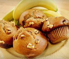 Recept  Bananen noten muffin op Kids-n-Fun.nl. Op Kids-n-Fun vind je altijd de leukste kleurplaten, wallpapers, knutsels, puzzels en recepten het eerst!