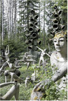 accidental mysteries: Veijo Rönkkönen's Sculpture Garden (Parikkala, Finland)