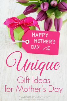 Mother's Day Gift Guide - Unique Gift Ideas for Mothers Day