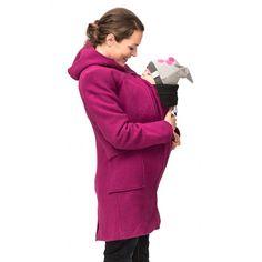 Kapuzenmantel für zwei -- für mein Wagenverachtendes Tragebaby, zum vorne und hinten tragen :)