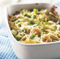 Katkarapu-juustovuoka | Maku Kermit, Macaroni And Cheese, Pasta, Ethnic Recipes, Food, Mac And Cheese, Noodles, Meals, Pasta Recipes