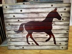 Large horse sign wood silhouette 100 year by Western Wall, Wood Wall Art, Wood Signs, Westerns, Moose Art, Silhouette, Horses, Animals, Etsy