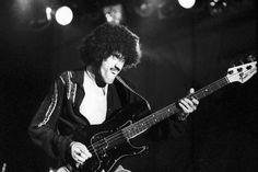Phil Lynott - Reading Festival, 1977.