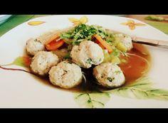 Ázsiai húsgombócleves Potato Salad, Potatoes, Ethnic Recipes, Food, Potato, Essen, Meals, Yemek, Eten