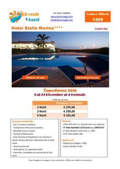 Hotel Stella Marina - Scoglitti (Rg) #Capodanno 2018 Per info e preventivi tel 0921428602 Email: info@demirviaggi.com Web: www.demirviaggi.com #Sicilia #Viaggi #LastMinute #Offerte