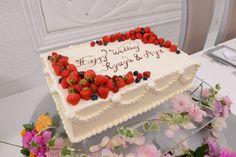 世界に一つだけのウェディングケーキ | 【公式】セント・ラファエロチャペル銀座~東京・銀座の結婚式場~