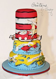 one fish, two fish, red fish, new fish #drsuess #partyideas AMAZING!!!!