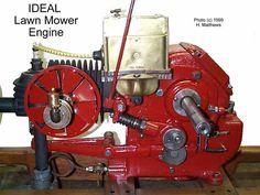 Ideal (hit 'n miss) Lawn Mower Engine