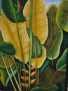 La jungla 100x73cm óleo