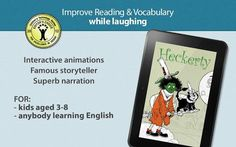 """A funny family storybook for learning to read English<p>Do you think learning can be funny? Would you like to laugh while you learn English? Meet our award-winning friend Heckerty — a 409 year old green-faced witch, hilarious and with a heart of gold.<p>An Editor's Choice by Children's Technology Review, awarded """"Recommended by Educators"""" on Google Play for Education, Shorty Awards finalist, a Mashable Kids Pick and proclaimed a """"must have"""" byThe Unofficial Apple Weblog — Heckerty delivers…"""